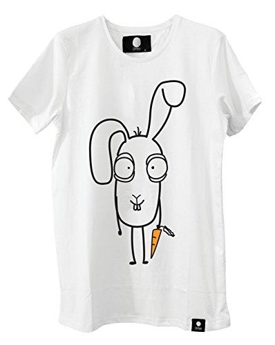 Quipster Bunny Osteredition - Fashion T-Shirt Lustige Bedruckte Tees für Damen und Herren (XL)