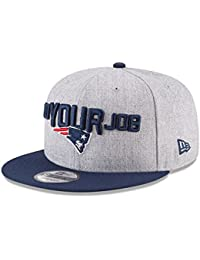 743af5bc8cfd New Era NFL NEW ENGLAND PATRIOTS Authentic 9FIFTY Onstage 2018 Draft  Snapback Cap