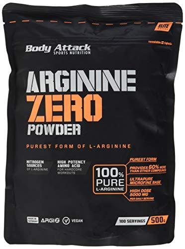Body Attack Arginine Zero, 500 g -