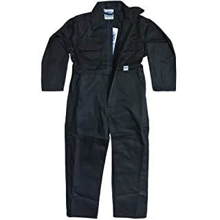 Children's, Kids, Boilersuit, Coverall, Overall, Boys, Girls (Size 28 Age 7-8 years, Navy Blue)