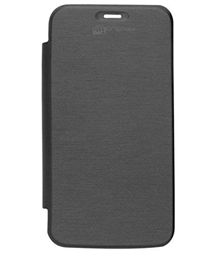 DMG Flip Cover for Micromax Canvas Turbo Mini A200 (Black)