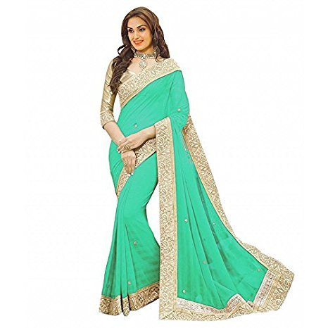 New Collection 2018 Sarees For Women Party Wear Offer Designe r Sarees...