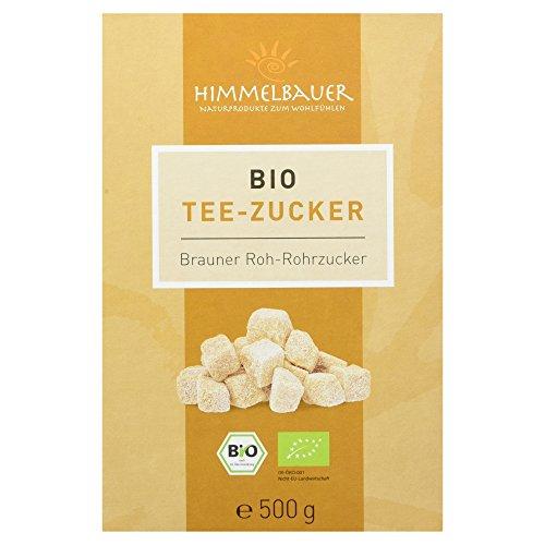 Himmelbauer Bio Tee-Würfelzucker Brauner Roh-Rohrzucker, 500 g