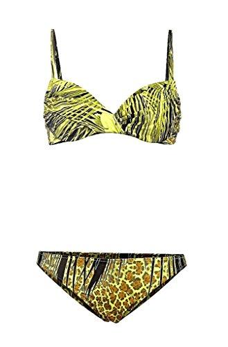 Diva - Bügel-Bikini für Damen - Kiwi Safari - Gr. 36 - Diva Trockner
