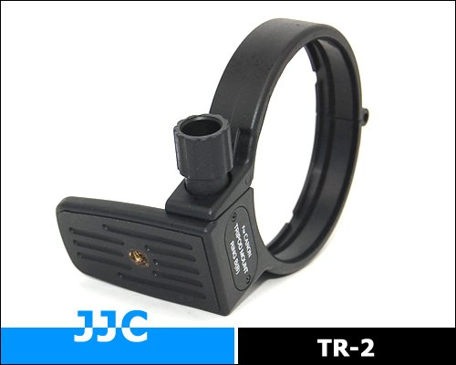 JJC TR-2 - Collier de pied type B pour Canon EF 100mm f/2.8 Macro USM, EF 180mm f/3.5L Macro USM, MP