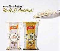 JAGS Gold Basmati & Premium Long Grain Rice Combo (1 KG)