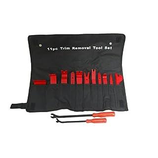 Zierleistenkeile Set Auto Innenausstattung - LEDAUT Auto Innen-Verkleidung Demontage Reparatur Werkzeug Set Lösewerkzeug für Auto Modifikation Türverkleidung Zierleisten