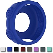 Cyeeson - Funda protectora de silicona suave para el reloj deportivo (running) Garmin Forerunner 220/230/235/630/620/735x T GPS, color azul