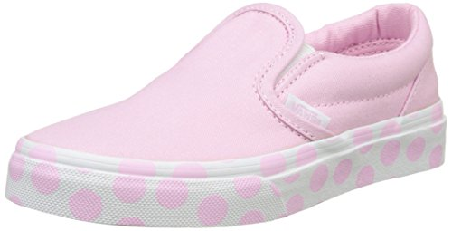 Vans Mädchen Uy Classic Slip-on Sneaker Polka Dot Pink Lady/True White, 34.5 EU