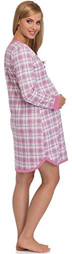 Cornette Camicie da Notte Premaman 654/03 Rosa/Rosa