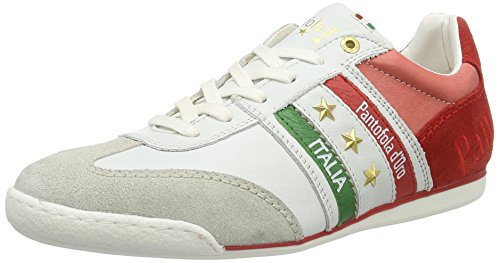 Pantofola d'Oro Imola Romagna Uomo Low, chaussons d'intérieur homme Multicolore (Racing Red)
