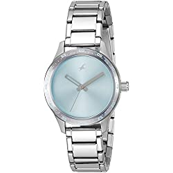 Fastrack Monochrome Analog Blue Dial Women's Watch