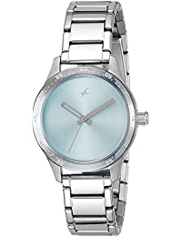 Fastrack Monochrome Analog Blue Dial Women's Watch -NK6078SM03