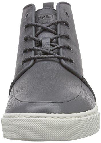 Hub Camden L37, Baskets Hautes Homme Gris (grey/lt grey 105)