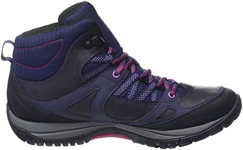 Merrell Azura Lapis Mid Wtpf, Chaussures Bébé marche femme Violet (Plum Plumeria)