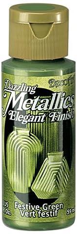DecoArt Americana Acrylic Metallic Paint, Festive
