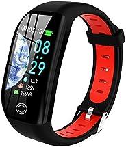 Tipmant Orologio Fitness Tracker Uomo Donna Smartwatch Bracciale Cardiofrequenzimetro da Polso Impermeabile IP