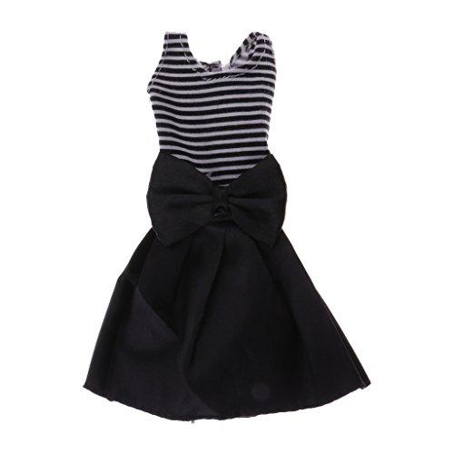 Gazechimp Modische Puppenkleidung, Puppen Einteiliges Kleid, Outfit für 28cm-33cm Puppen Zubehör - # A (Doll Dress Up Kostüm)