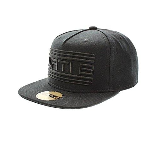 Wati b-Core pinch cap-Cappellino americana, colore: nero nero Adu
