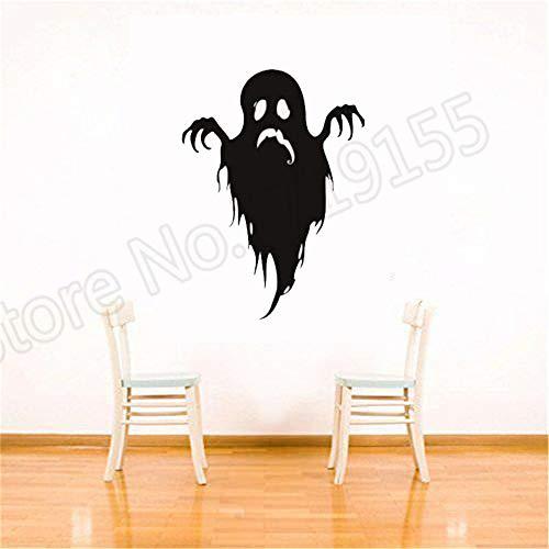 asserdichte hauptdekoration Halloween Happy Ghosts Aufkleber für Party Lustige Monster ScreamWandtattoos 42 * 57 cm ()
