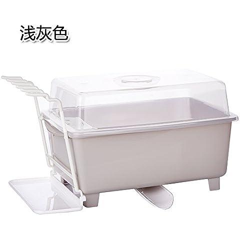 CLG-FLY recipiente plegable bandeja para rack, agua Lek Yuen cocina estanterías en la pared#29 con alta calidad