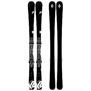 K2 Damen Anthem 76 Erp 10 Quikclik Black – Anthracite Set Ski Bindung