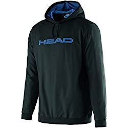 Head Byron - Polo para hombre, color negro / azul, talla XL