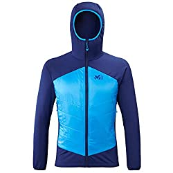MILLET Herren HYBRID AIRLOFT Hoodie M Weste, Blau (Blue Depths/Electric Blue), M