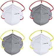 Nasher Miles N95 5 layer Color Face Mask, Reusable and Washable, Head Strapped, SITRA/CE/ISO Approved, Anti Po