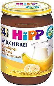 HiPP Grießbrei Banane, 6er Pack (6 x 190 g)