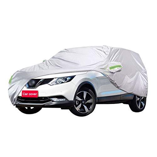 Auto Abdeckung Kompatibel mit Nissan Qashqai Auto Abdeckung SUV Dickes Oxford Tuch Sonnenschutz Regendicht Warme Abdeckung Auto Abdeckung (Größe: 2017)