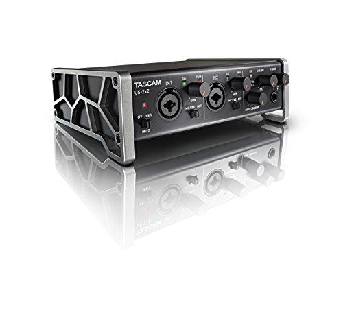 Tascam USB-Audio-Schnittstelle US-2x2 Audio-Interface US-2X2