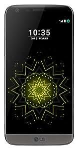 LG - H850 - G5 - Smartphone Débloqué 4G (Ecran 5,3 Pouces - 32 Go - Simple Nano-SIM - Android 6.0.1 Marshmallow) - Gris