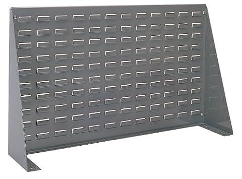 Akro-mils 98636aération Banc de panneau en acier Rack pour montage Akrobins, 91,4cm de long 50,8cm de hauteur 20,3cm de largeur, gris