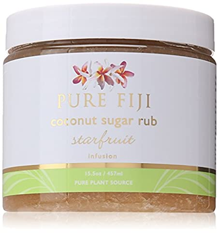 Pure Fiji Coconut Sugar Rub Starfruit, 15.5 Ounce by Pure Fiji
