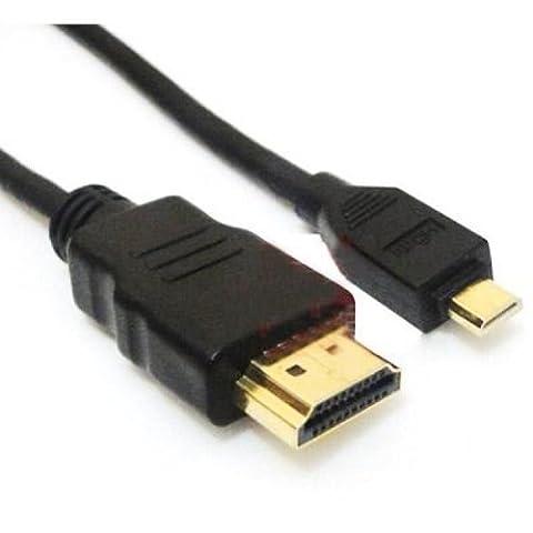 Câble HDMI vers micro HDMI 1,4v haute vitesse avec connecteurs plaqués or pour Kindle Fire HD 8,9