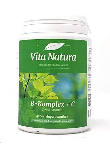 Vitamin B-Komplex plus C 120 veg. Kapseln VN -