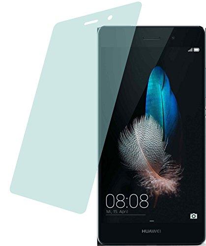 4ProTec Huawei P8 Lite (2 Stück) Premium Bildschirmschutzfolie Displayschutzfolie kristallklar Schutzhülle Bildschirmschutz Bildschirmfolie Folie