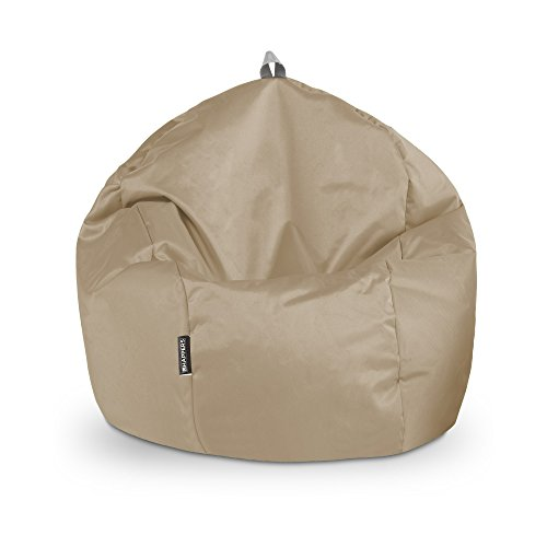 Happers Ball naylim Sitzsack Wasserdicht, Polyester, Sand, 60x 60x 60cm