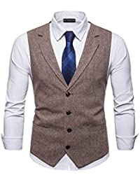 venta de bajo precio diseño hábil muchos estilos Chalecos de vestir para hombre | Amazon.es