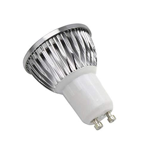 happy event E27 E14 GU10 4W 18-LED Pflanzenlampe Pflanzenlicht Led Grow Light Birne Hydroponische Veg Blume volles Spektrum   Plant Grow Light Bulb (GU10)