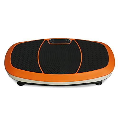 ZHYJJ Vibrationsplatte Mit Bluetooth Poster + Trainingsbändern + Fernbedienung Integrierter Lautsprecher Im Vibrationsgerät