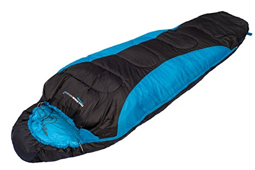 Warm Lightweight Mummy Sleeping Bag Camping Backpacking Hiking with Carrying Case by MountainShack