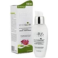 Lotus Herbals WhiteGlow Intensive Skin Whitening & Brightening Serum + Moisturiser | 30 ml
