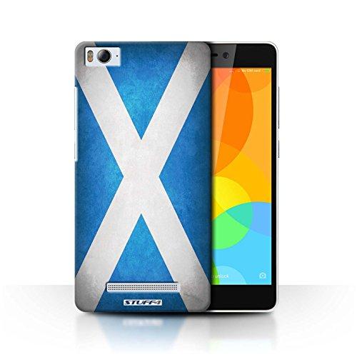 Stuff4® Hülle/Case für Xiaomi Mi 4i / Schottland/Schottische Muster/Flagge Kollektion