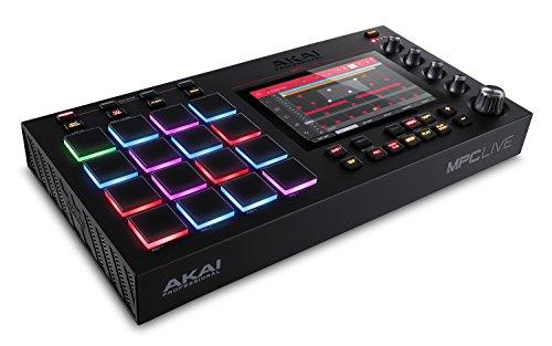 """Controlador akai mpc-live con pantalla touch 7"""""""