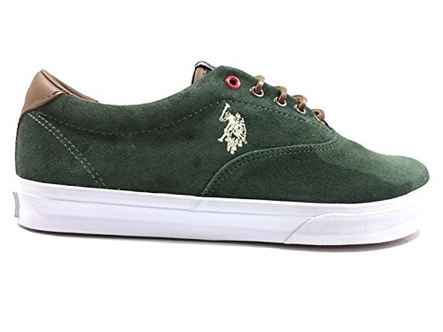 us-polo-assn-zx465-sneakers-homme-44-eu-daim-vert