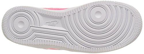 Nike Air Force 1 (Gs), Scarpe da Basket Bambino Pink Pow/Pink Pow-White