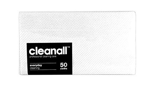 cleanall jcc50W janitors panno, Everyday, Bianco (Confezione da 24)