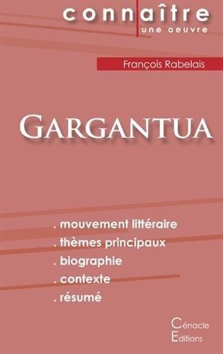 Fiche de Lecture Gargantua de François Rabelais (Analyse Littéraire de Référence)